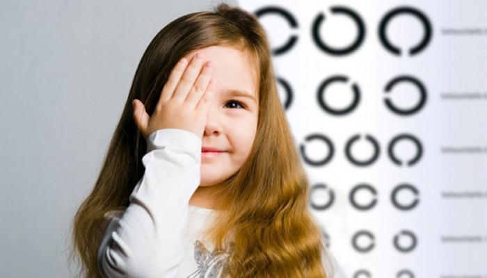 Диагностика зрения для детей